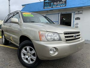 2003 TOYOTA HIGHLANDER LIMITED 4X4 for Sale in Homestead, FL