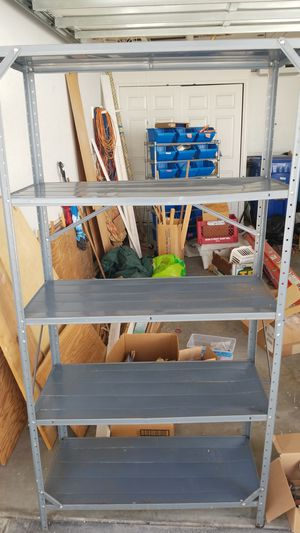 Metal shelves 2 count. Sturdy for Sale in Redondo Beach, CA