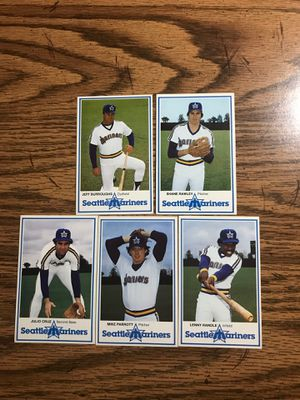 1981 Seattle Mariners Police Trading Cards for Sale in Lacey, WA