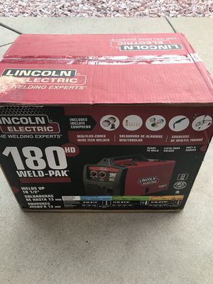 Lincoln electric 180 Hd welder for Sale in Lemont, IL