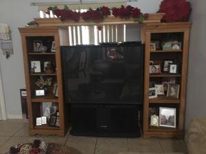Ultavision tv & wood unit for Sale in Homestead, FL