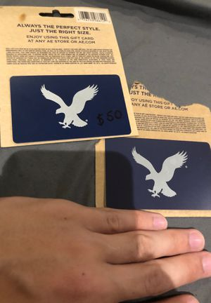 75$ worth of American eagle cards for Sale in Buffalo, NY
