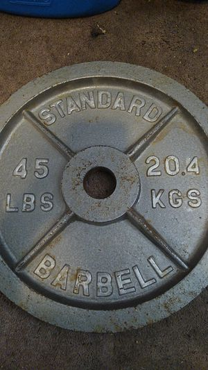 45lb Olympic Plate for Sale in Seal Beach, CA
