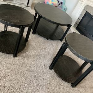 Ashley Furniture Coffee Table And 2 End Tables for Sale in Visalia, CA