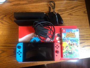 Nintendo Switch with Animal Crossing for Sale in Pittsburgh, PA