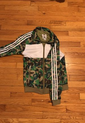 Bape x Adidas Jacket size M (TRADES) for Sale in Cleveland, OH