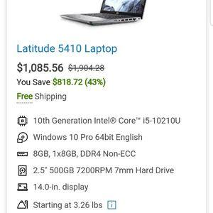 Dell Latitude 5410 Labtop for Sale in Phoenix, AZ