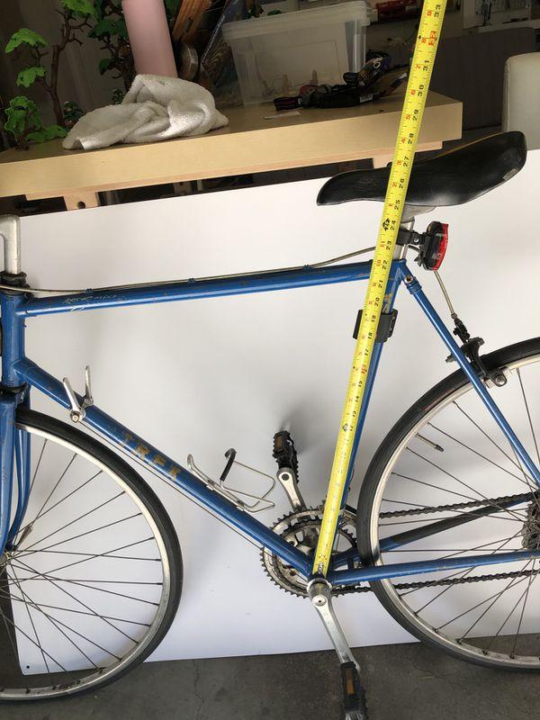 "TREK 12 speed road bike 23"""