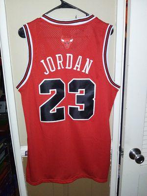 Mens Small Michael Jordan Chicago Bulls Jersey New Stiched $45. Pick up in West Covina for Sale in West Covina, CA