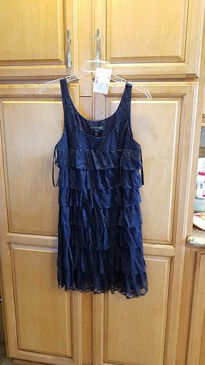 DRESS. BY I-N-C...BEAUTIFUL LACE RUFFLE DRESS. SIZE MEDIUM. NEW, NEVER WORN. for Sale in Upland, CA