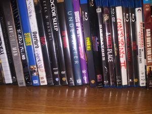 Awesome dvds and blue rays...new movies.. for Sale in San Antonio, TX