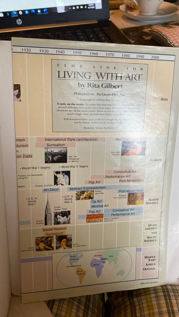 """Gilbert's """"Living With Art""""...6th edition"""