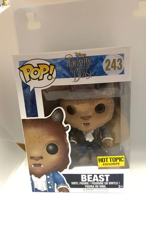Pop! Disney's Beauty and the Beast. #243. Hot Topic Exclusive. Flocked. for Sale in Valrico, FL