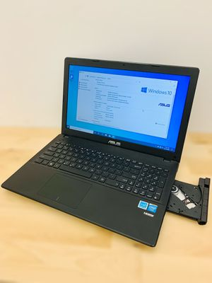 "ASUS 15.6"" laptop / Windows 10 / Camera / Antivirus / HDMI / CD-DVD / Charger / New battery for Sale in Lauderhill, FL"