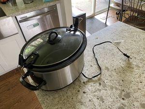 Crock pot 6qt for Sale in Federal Way, WA
