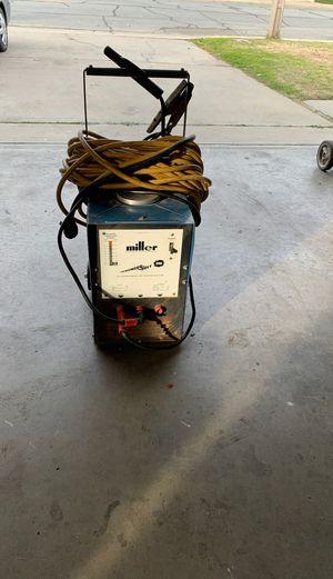 Miller welder machine. Thunder bolt 225v for Sale in Livingston, CA