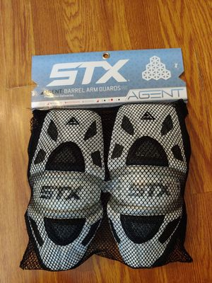 STX Lacrosse Agent Barrel Arm Pads As M for Sale in Dundalk, MD