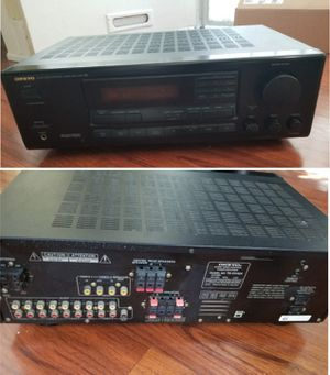 Onkyo 7.1ch stereo receiver amplifier Bluetooth optional for Sale in Long Beach, CA