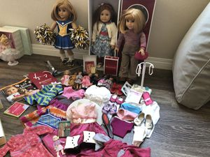 American girl dolls and accessories for Sale in Las Vegas, NV