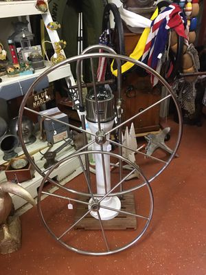 Ritchie Ship helm with wheel for Sale in NORTH PRINCE GEORGE, VA