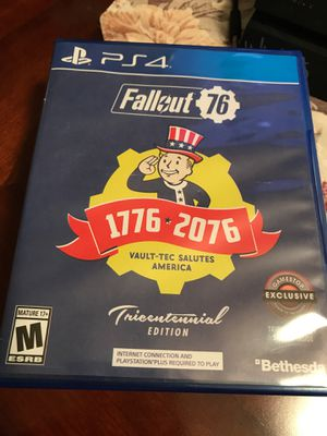 Fallout 76 PS4 for Sale in Baldwin Park, CA