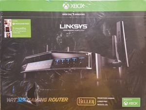 LINKSYS WRT gaming WIFI router for XBOX for Sale in Dallas, TX