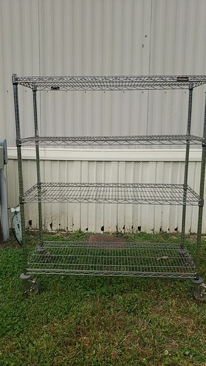 Eagle Chrome Wire shelving 5ft x4ft for Sale in Brentwood, NC