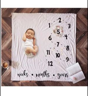 Monthly Milestone Baby Blankets for Sale in Seminole, FL