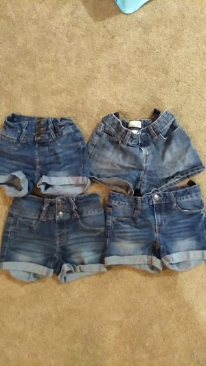 Girl size 10 jeans shorts 10.00 for all for Sale in Norwood, PA