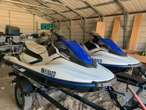 Waverunners Jetskis 2017 Yamaha EX Sport 3 seaters for Sale in Albuquerque, NM