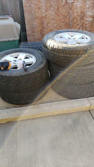 """Jeep 18"""" stock wheels for Sale in Turlock, CA"""