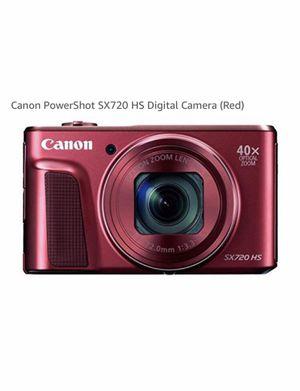 Canon red powershot SX 720 HS digital camera for Sale in Alexandria, VA