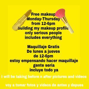 Free makeup maquillaje Gratis en irving for Sale in Irving, TX