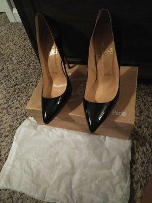 Black Red Bottom Heels for Sale in Murfreesboro, TN