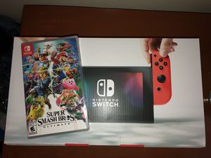 Nintendo switch and super smash bros for Sale in Queens, NY