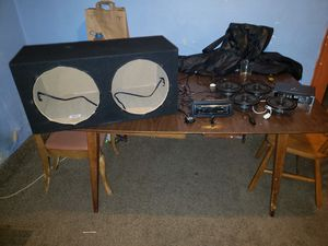 Stereo Equipment (Need gone ASAP) for Sale in BAYVIEW GARDE, IL