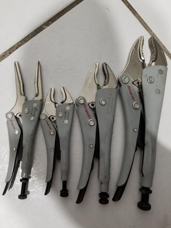 Snap on locking pliers