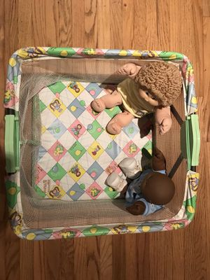 Vintage 1980s Cabbage Patch Doll Folding Playpen $30 for Sale for sale  Costa Mesa, CA