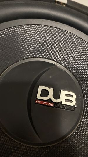 """DUB200 Mag audio 12"""" subwoofer speaker only for Sale in Columbus, OH"""