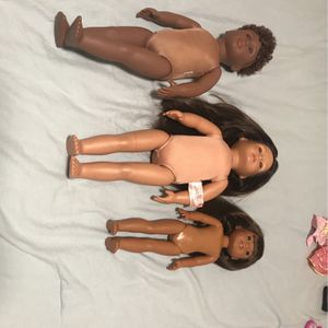 Three Good Quality Doll Family Set! for Sale in Vancouver, WA