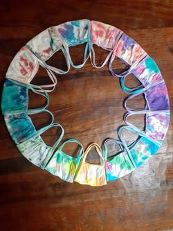 Tie Dye face mask Reusable and Washable for Sale in Chelan,  WA