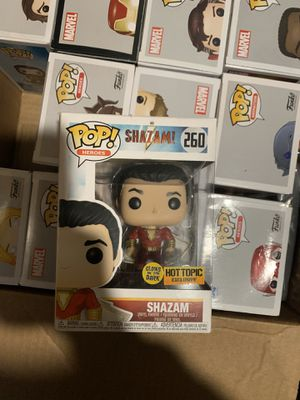Shazam Glow Hot Topic Exclusive Funko POP for Sale in Torrance, CA