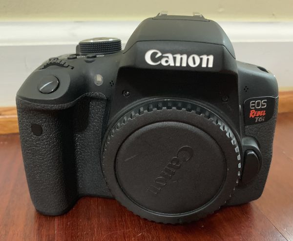 Canon EOS Rebel T6i EF-S 18-55mm IS STM Kit with Accessories