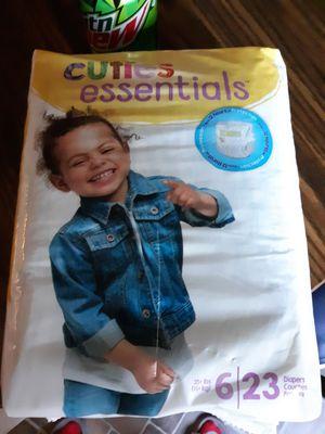 Cuties essential diapers for Sale in Victoria, VA