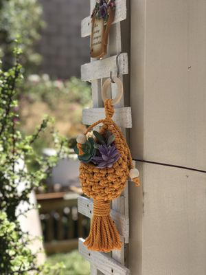 Macrame pod planter (made to order) for Sale in Murrieta, CA