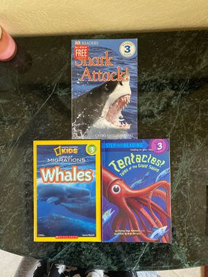 Level 3 Ocean reading books for Sale in Pompano Beach, FL