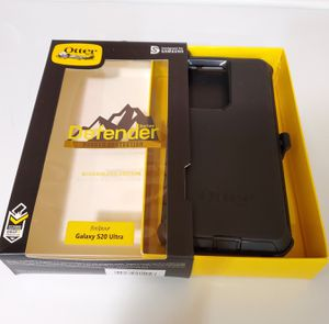 Samsung Galaxy S20 Ultra Otterbox Defender Series Case with belt clip holster for Sale in Santa Clarita, CA