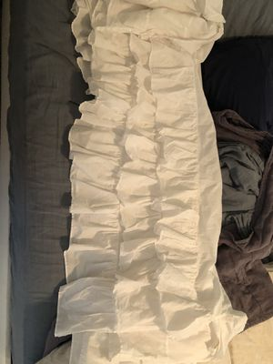 Pottery barn baby crib skirt for Sale in Austin, TX