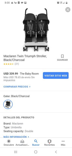 Maclaren double stroller for Sale in Dallas, TX