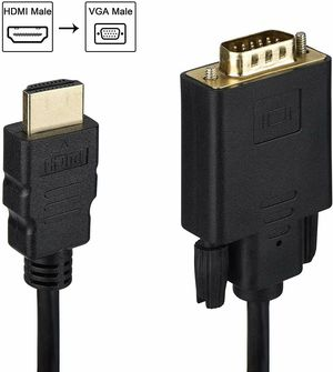 HDMI to VGA Cable Gold-Plated 1080P HDMI Male to VGA Male Active Video Adapter Converter Cord for Sale in Henderson, NV